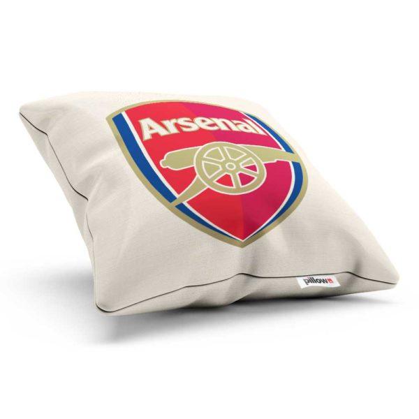 Vankúšik Arsenal FC s logom futbalového klubu