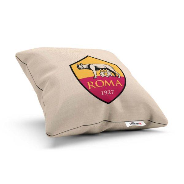 Vankúšik s logom klubu AS Roma z Talianskej Serie A