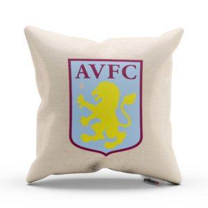 Vankúš Aston Villa s logom futbalového klubu