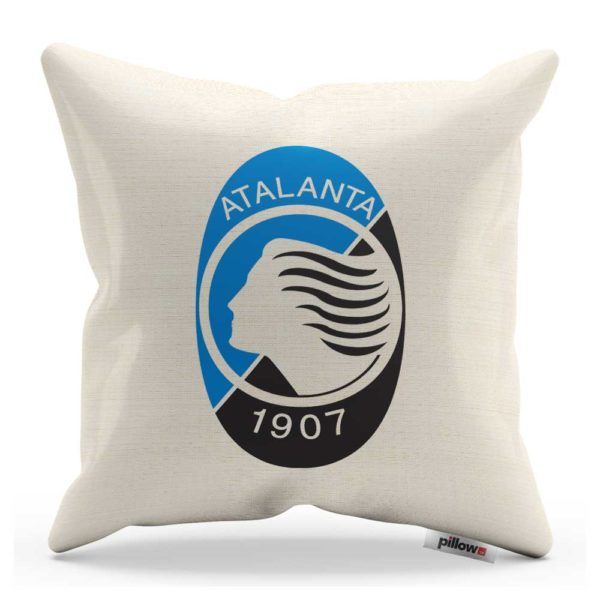 Vankúš s logom Atalanta BC z Talianskej Serie A