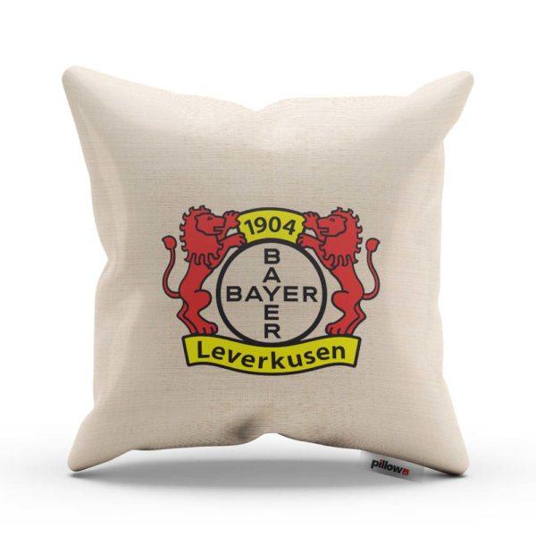 Vankúš Bayer Leverkusen s logom futbalového klubu