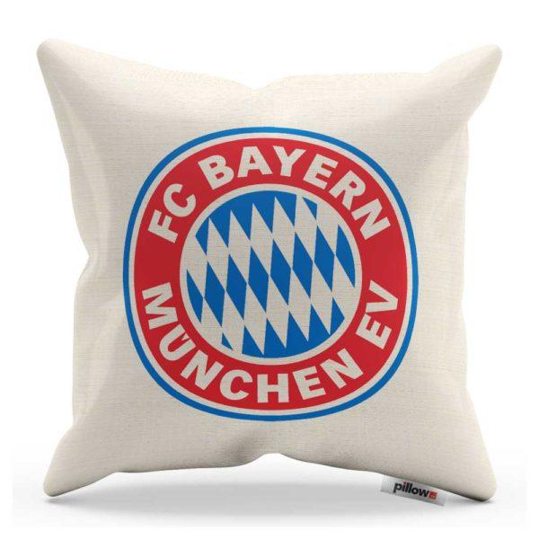 Dekoračný vankúš s emblémom klubu FC Bayern Mníchov