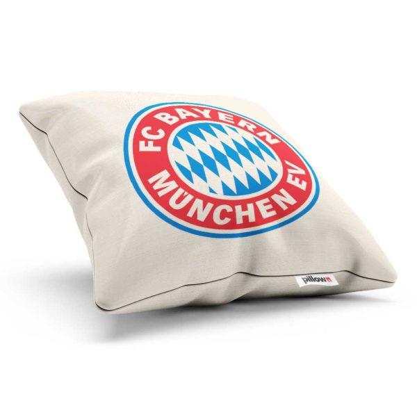Dekoračný vankúšik so znakom klubu FC Bayern München