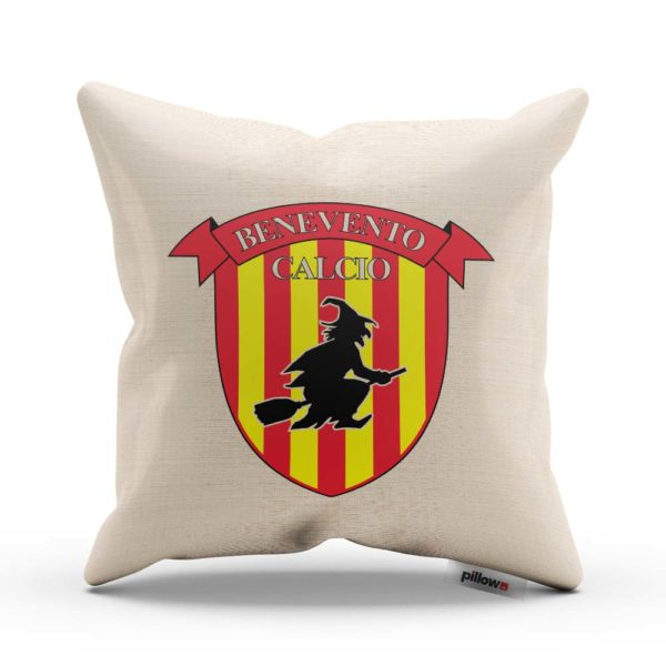 Vankúš s logom Benevento Calcio z Talianskej prvej ligy