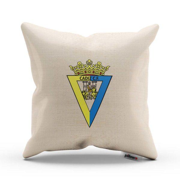 Vankúš Cádiz CF s logom futbalového klubu