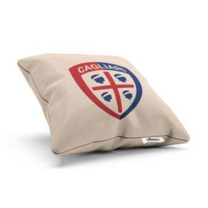 Vankúš s logom Cagliari Calcio z Talianskej Serie A