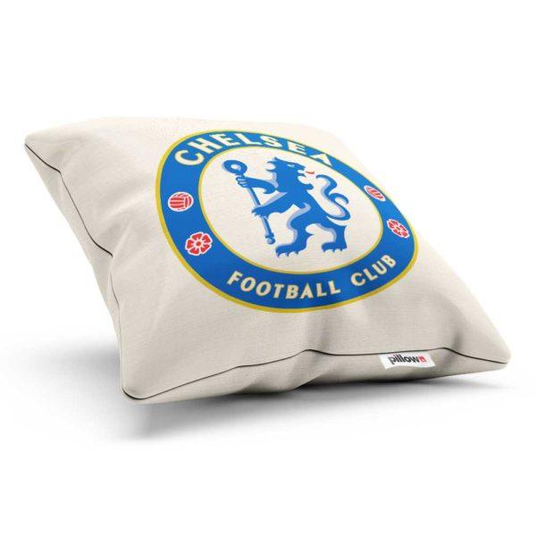 Vankúš s logom futbalového klubu FC Chelsea