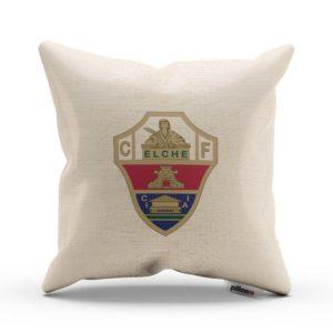 Elche CF fotbalový klub, tlačené logo na vankúši