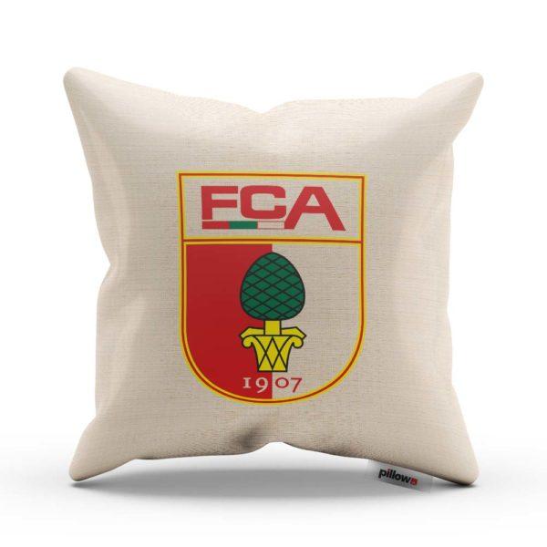 Originálny vankúš s logom futbalového klubu FC Augsburg