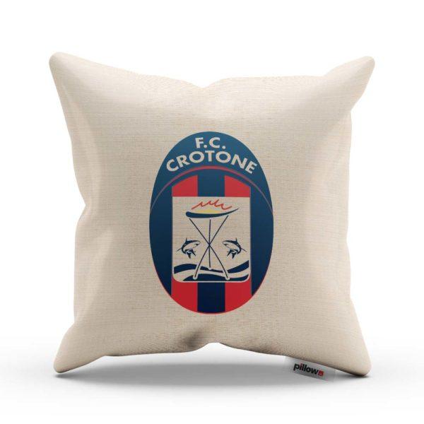 FC Crotone fotbalový klub, tlačené logo na vankúši