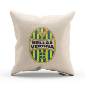 Hellas Verona FC - emblém na handmade vankúši