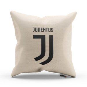 Decentný vankúš s logom futbalového klubu Juventus Turín