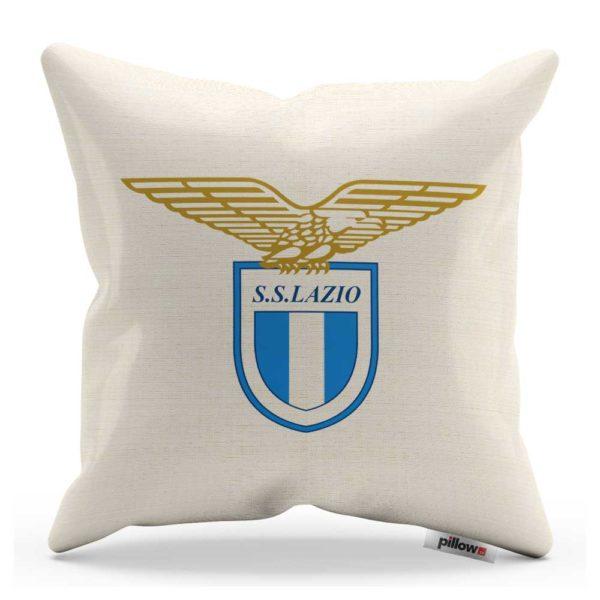 Vankúšik Lazio Roma s logom futbalového klubu zo Serie A