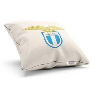 Vankúš Lazio Rím s logom futbalového klubu zo Serie A