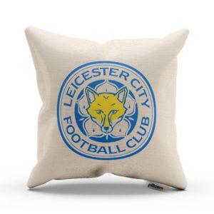Dekoračný vankúš s emblémom FC Leicester city