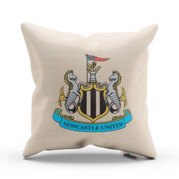 Originálny vankúš s logom futbalového klubu Newcastle United