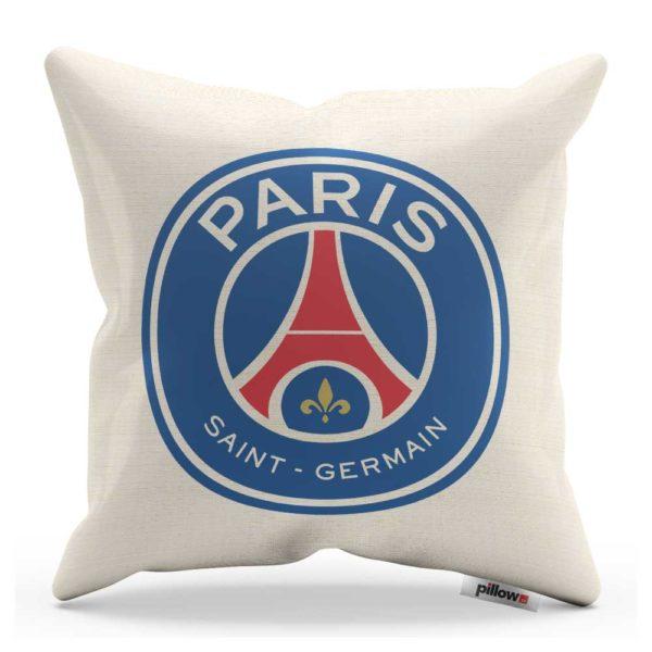 Vankúš s logom futbalového klubu Paris Saint-Germain FC