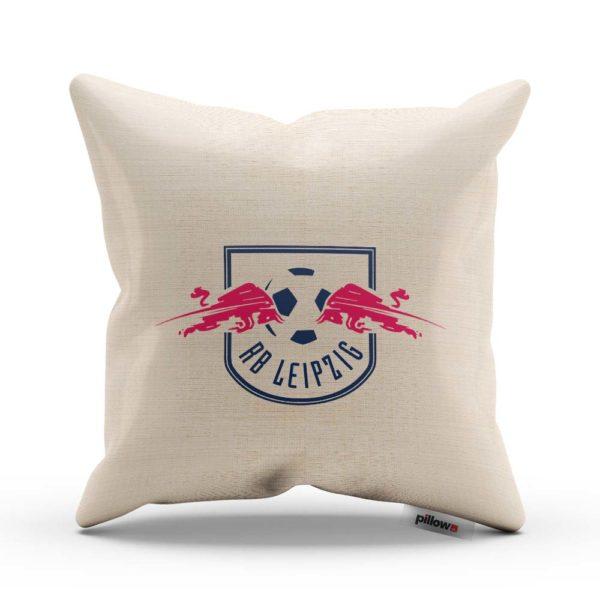 RB Leipzig - vankúš s futbalovým logom z Bundesligy