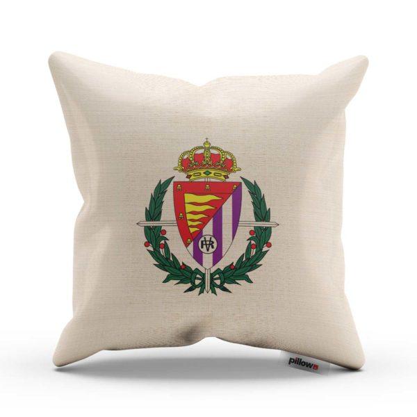 Real Valladolid fotbalový klub, tlačené logo na vankúši