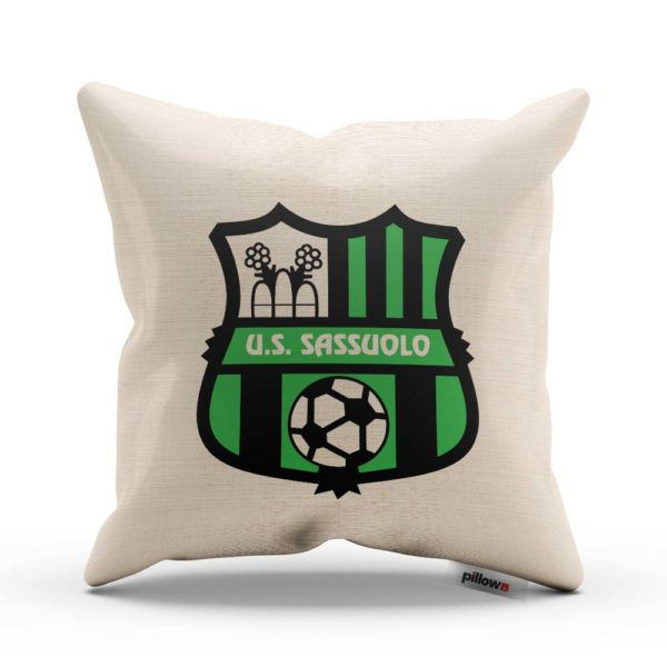 Futbalový klub US Sassuolo Calcio na vankúšiku s obliečkou