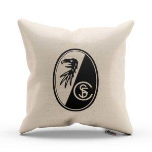 Originálny vankúš s logom futbalového tímu SC Freiburg