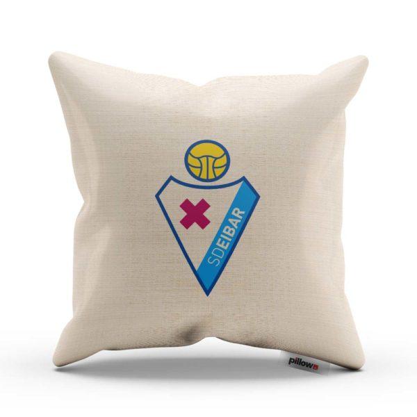 Dekoračný vankúš s emblémom klubu SD Eibar
