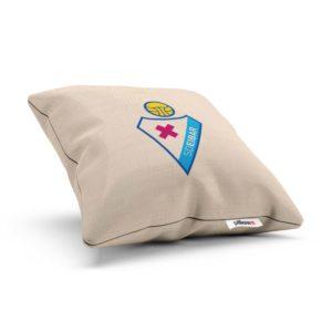 Športový vankúšik s logom futbalového teamu SD Eibar