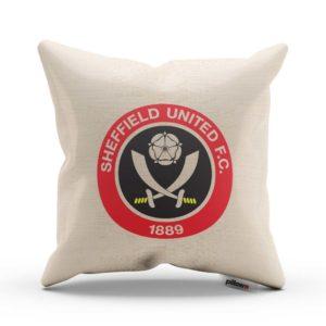 Športový vankúš s logom futbalového teamu Sheffield United