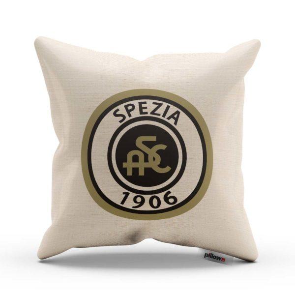 Futbalový klub Spezia Calcio na vankúši