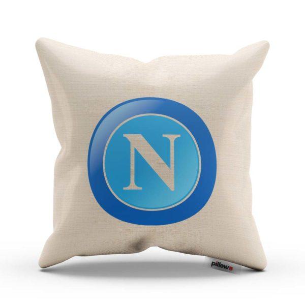SSC Neapol fotbalový klub, tlačené logo na vankúši