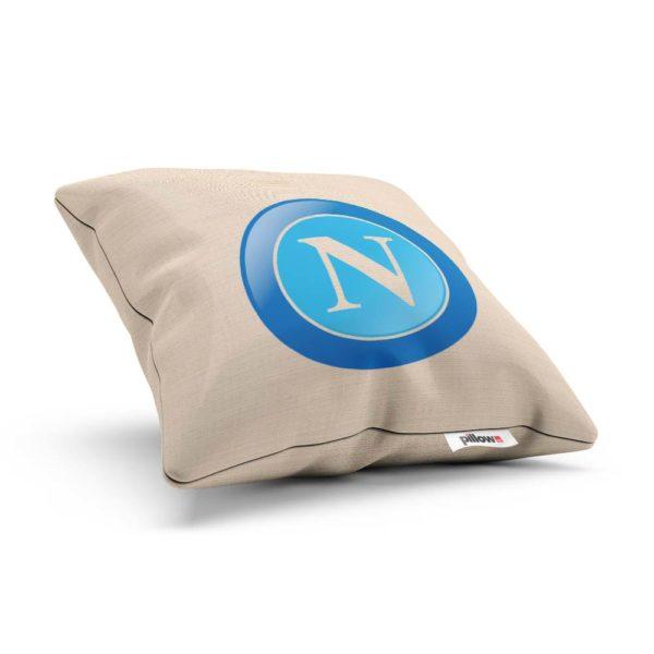 SSC Neapol futbalový klub, tlačené logo na bavlnenom vankúšiku