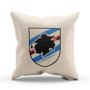 Vankúšik UC Sampdoria s logom futbalového klubu
