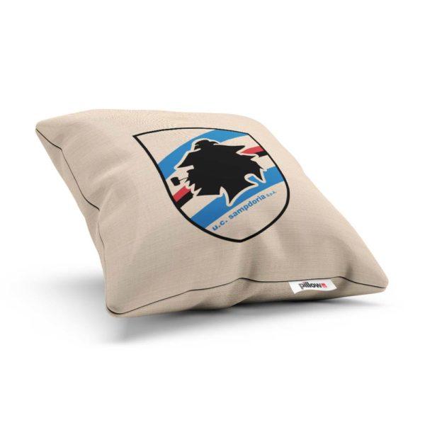 Originálna obliečka na vankúšik s logom futbalového tímu UC Sampdoria