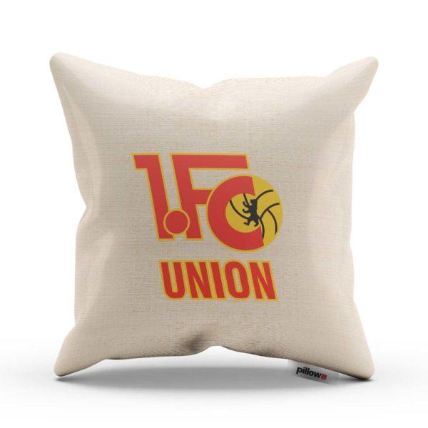 1. FC Union Berlín fotbalový klub, tlačené logo na vankúši
