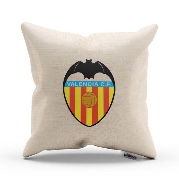 Vankúš Valencia CF s logom futbalového klubu z Primera División
