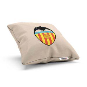 Vankúšik Valencia CF s logom futbalového klubu z La Liga