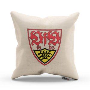 Vankúš VfB Stuttgart s logom futbalového klubu