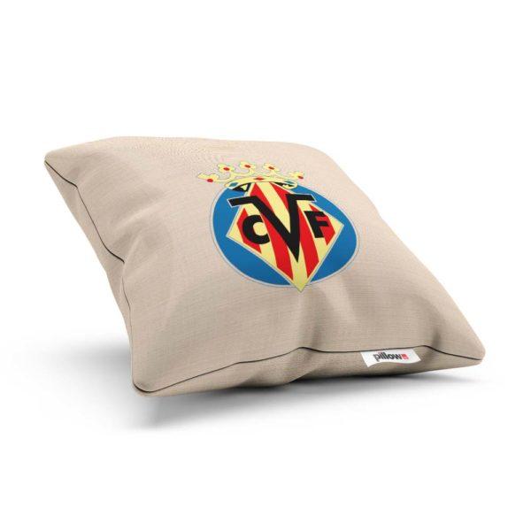 Vankúš Villarreal CF s logom futbalového klubu z Primera División