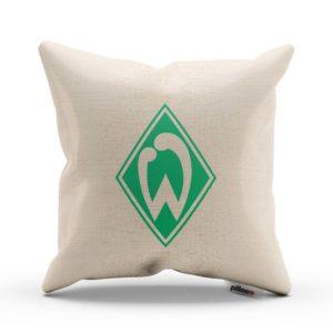 Originálny vankúš s logom futbalového tímu Werder Bremen