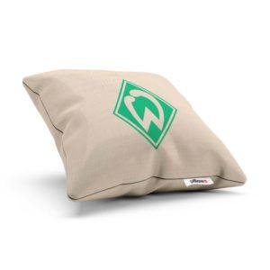 Originálny vankúšik s logom futbalového tímu Werder Brémy