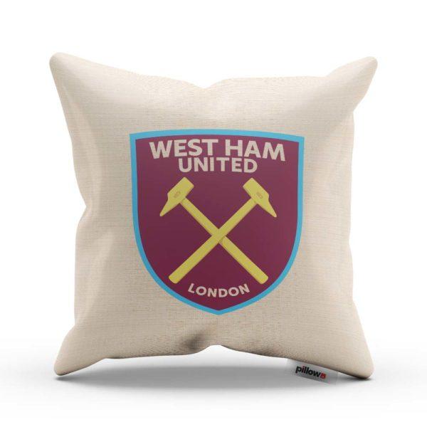 West Ham United - vankúš s futbalovým znakom