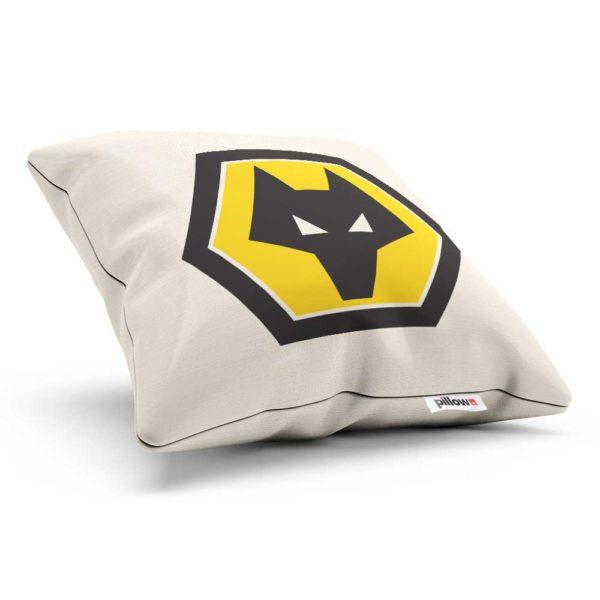 Symbol FC Wolverhampton na obliečke v žlto čiernej farbe