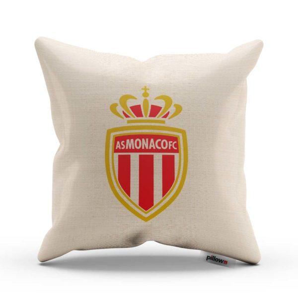 Vankúš s logom futbalového klubu AS Monaco FC