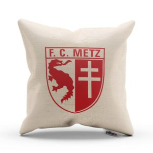Vankúš s logom futbalového klubu FC Metz