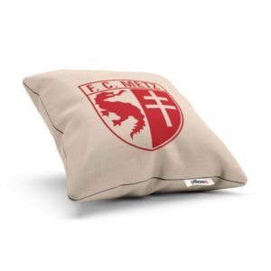 Vankúšik s logom futbalového tímu FC Méty