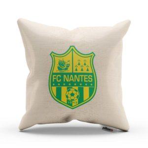 Vankúš s logom futbalového klubu FC Nantes