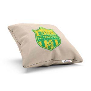 Vankúšik s logom futbalového tímu FC Nantes