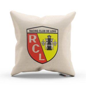 Vankúš s logom futbalového klubu RC Lens