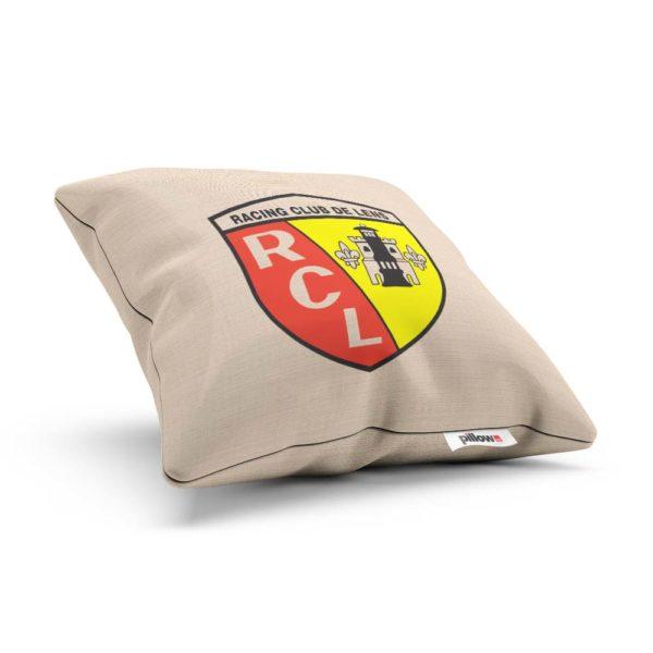 Vankúšik s logom futbalového tímu Racing Club de Lens