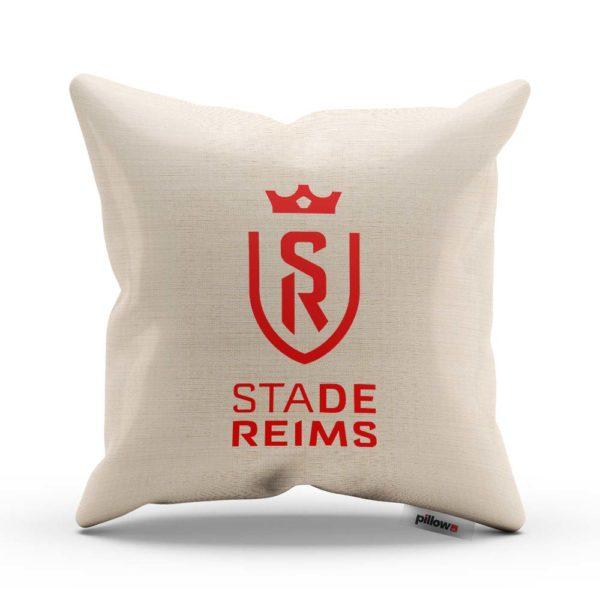 Vankúš s logom futbalového klubu Stade Reims